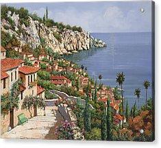 La Costa Acrylic Print by Guido Borelli