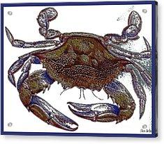 La' Crab Fest Acrylic Print by Theo Bethel