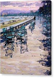 La Croisette Acrylic Print by Michael Swanson