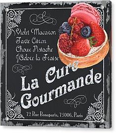 La Cure Gourmande Acrylic Print by Debbie DeWitt