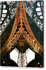Acrylic Print featuring the painting La Dame De Fer by Tom Roderick