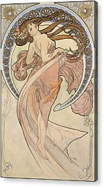La Danse, 1898 Watercolour On Card Acrylic Print