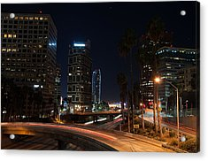 Acrylic Print featuring the photograph La Down Town 2 by Gandz Photography