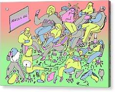 La Ensenianza Acrylic Print