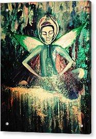 La Fee Verte Acrylic Print