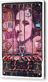La Femme Fatale Acrylic Print by Blue Sky