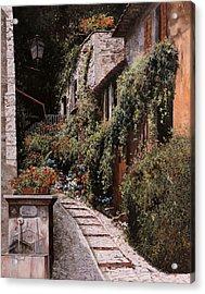 La Fontanella Acrylic Print