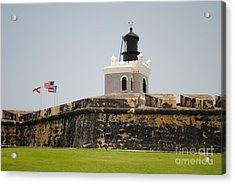 La Fortaleza Light Tower Acrylic Print
