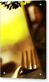 Acrylic Print featuring the photograph La Fourchette by Selke Boris