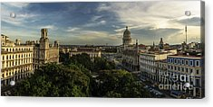 La Habana Cuba Capitolio Acrylic Print