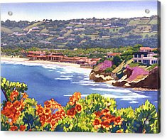 La Jolla Beach And Tennis Club Acrylic Print by Mary Helmreich