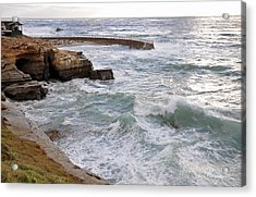 Acrylic Print featuring the photograph La Jolla Ca by Gandz Photography