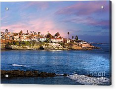 La Jolla California Usa Beach Acrylic Print