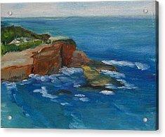 La Jolla Cove 023 Acrylic Print by Jeremy McKay