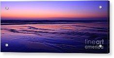 La Jolla Shores Twilight Acrylic Print