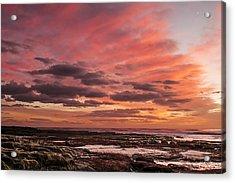 La Jolla Sunset 1 Acrylic Print