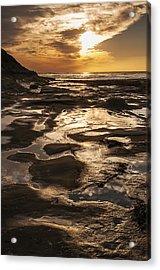 La Jolla Sunset 3 Acrylic Print