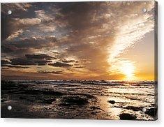 La Jolla Sunset 4 Acrylic Print