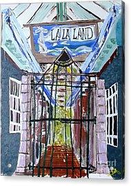 La La Land  Acrylic Print