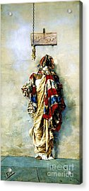 La Ladrona Acrylic Print by Pg Reproductions