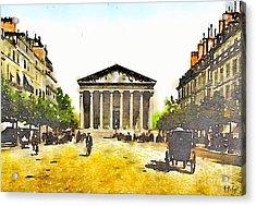 La Madeleine 1890 Acrylic Print