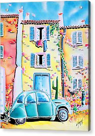 La Maison De Copain Acrylic Print