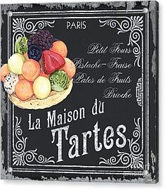 La Maison Du Tartes Acrylic Print by Debbie DeWitt