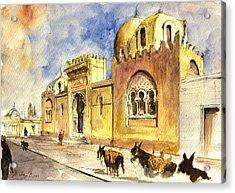La Medersa School Casbah Acrylic Print