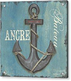 La Mer Ancre Acrylic Print
