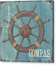 La Mer Compas Acrylic Print
