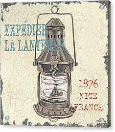 La Mer Lanterne Acrylic Print by Debbie DeWitt