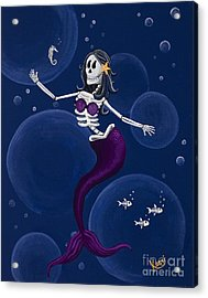 La Muerta Del Mar / The Dead Of The Sea Acrylic Print