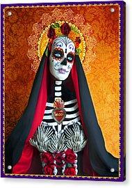 La Muerte Acrylic Print by Tammy Wetzel