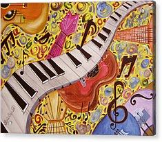 La Musica Acrylic Print