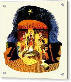 La Natividad Acrylic Print by Roger Kohn