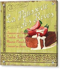 La Patisserie Des Reves 2 Acrylic Print by Debbie DeWitt