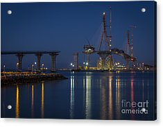 La Pepa Bridge Cadiz Spain Acrylic Print