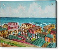 La Perla San Juan Pr Acrylic Print