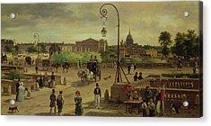 La Place De La Concorde Acrylic Print