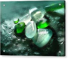 La Playa De Los Cristales  Acrylic Print