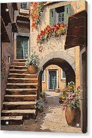 La Porta Dopo L'arco Acrylic Print by Guido Borelli
