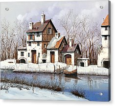 La Prima Neve Acrylic Print