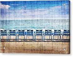 La Promenade Des Anglais Acrylic Print