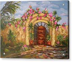 La Punta Villa Acrylic Print