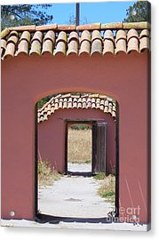 La Purisima Doorways Acrylic Print