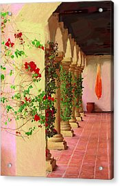 La Quinta Peristyle Acrylic Print by Viktor Savchenko