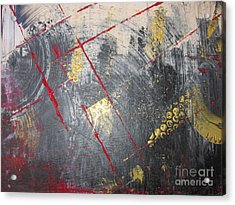 Acrylic Print featuring the painting La Ruche by Lucy Matta