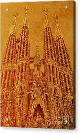 La Sagrada Familia Acrylic Print