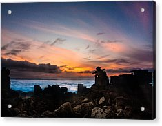 Acrylic Print featuring the photograph La Siesta by Edgar Laureano