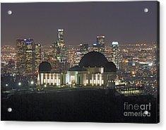 L.a. Skyline Acrylic Print